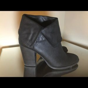 Dillard's Reba black ankle bootie